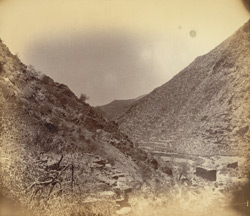 General view of an ancient ruined city, Digah, Peshawar District 1003970B